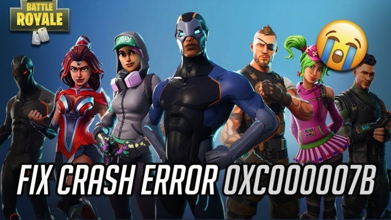 Fix Fortnite Error 0xc00007b