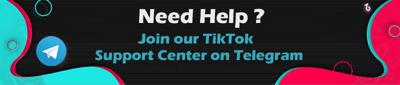Join Tiktok Support Center