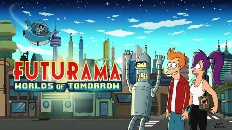 Futurama - Worlds of Tomorrow Game