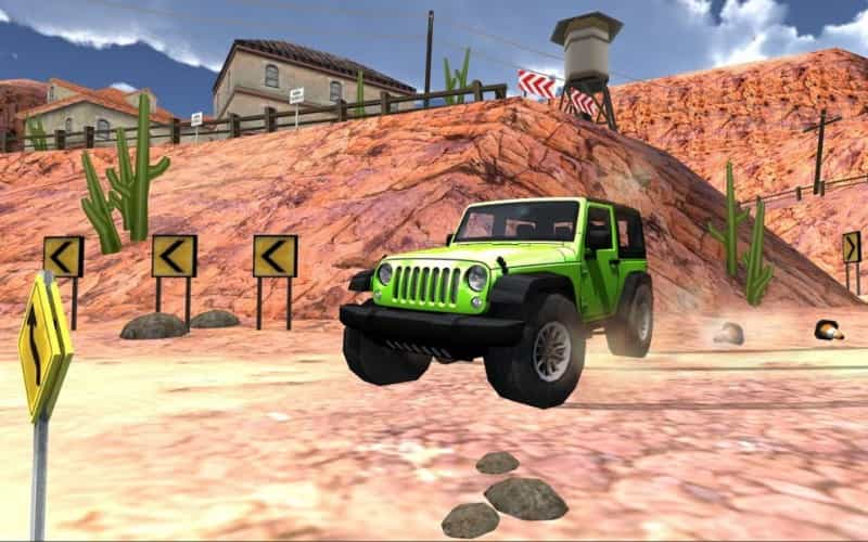 Extreme SUV Driving Simulator Game