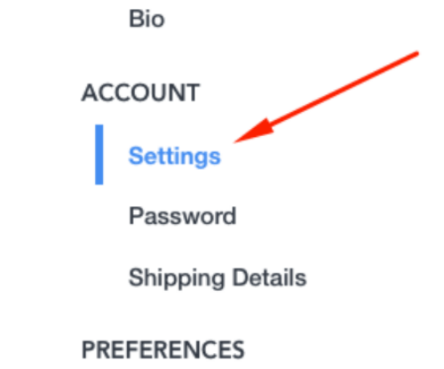 HackerRank Account Settings