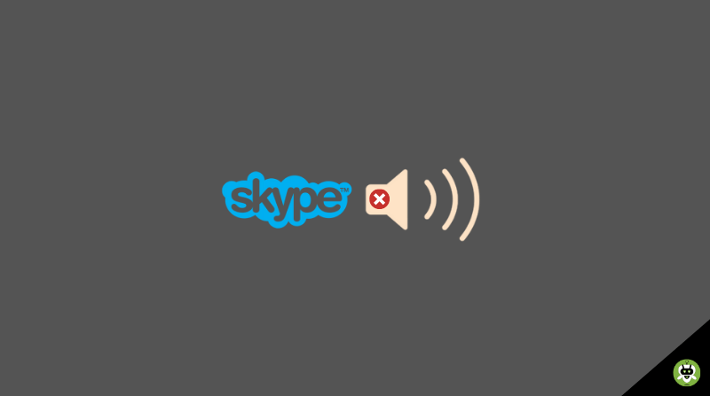 Fix Skype Share System Sound Not Working