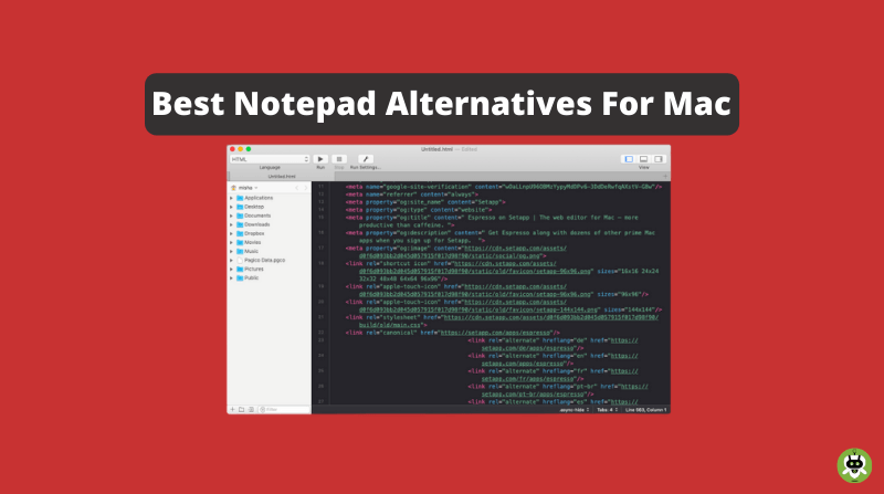 6 Best Notepad Alternatives For Mac [Hand Picked]