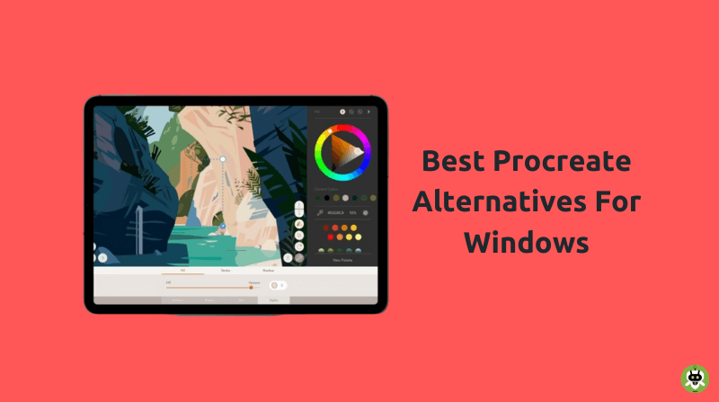 10 Best Procreate Alternatives For Windows & Mac [Top Picks]