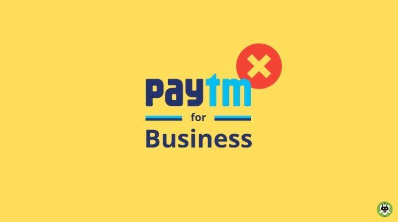 Delete Paytm Business Account