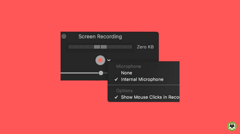 Record Mac Screen With System Audio