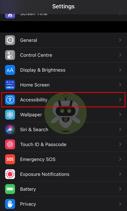 Accessibility iPhone