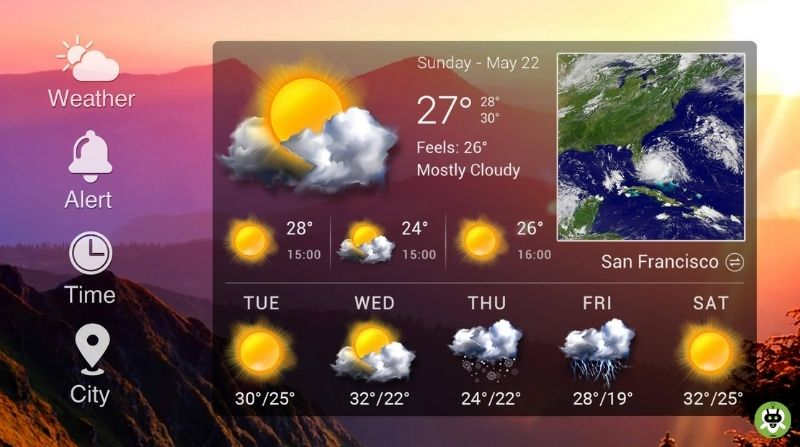 5 Best Free Weather Widgets For Android [Updated List]