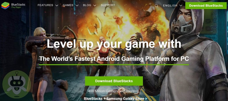 Download BlueStacks Play Bigger