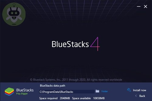 Set Path Of BlueStacks