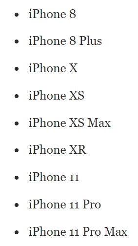 iOS 14 Back Tap Feature Supported Devices