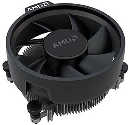 AMD Wraith Stealth Socket AM4 CPU Cooler