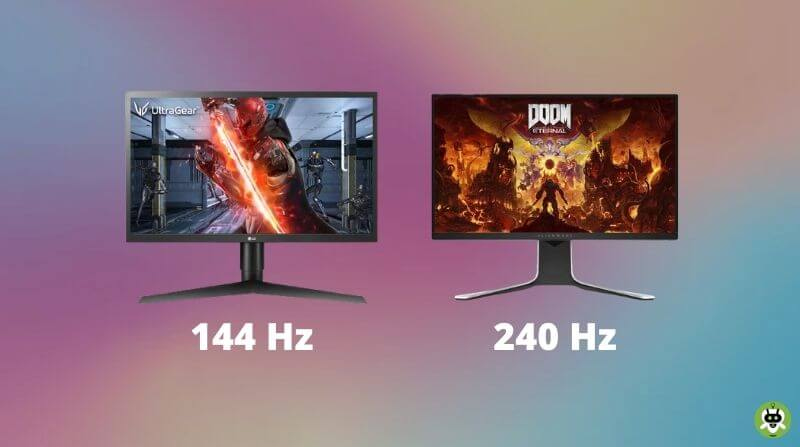 144Hz Vs 240Hz Monitors – Which One To Choose?