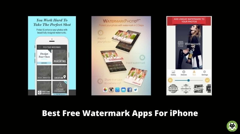 Best Free Watermark Apps For iPhone