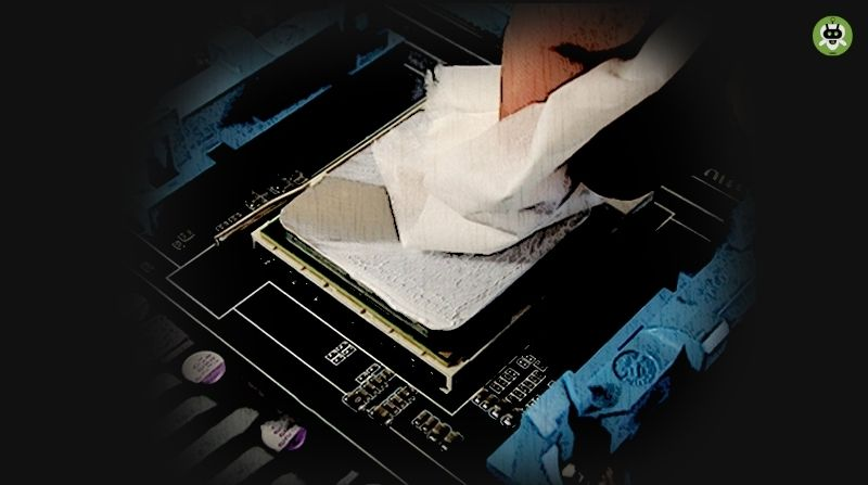 Clean CPU With Isopropyl Alcohol