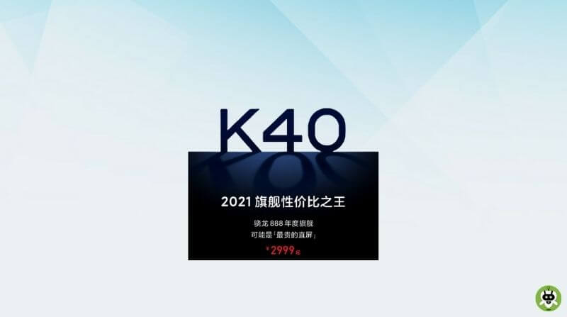 Redmi K40 With Snapdragon 888 SoC Teased To Launch Next Month
