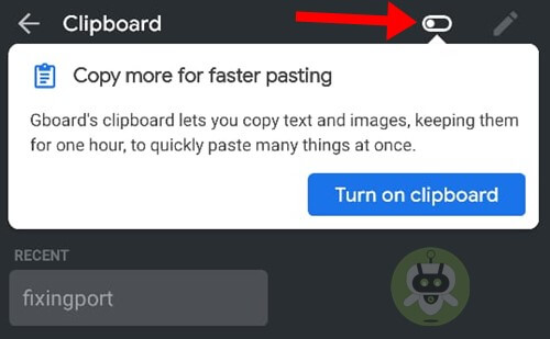 Toggle On Clipboard - Clipboard History