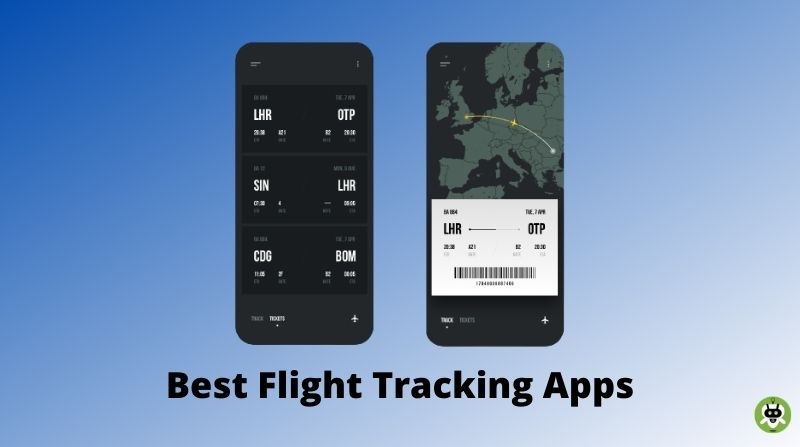 10 Best Flight Tracking Apps For iPhone/Android [Free & Paid]