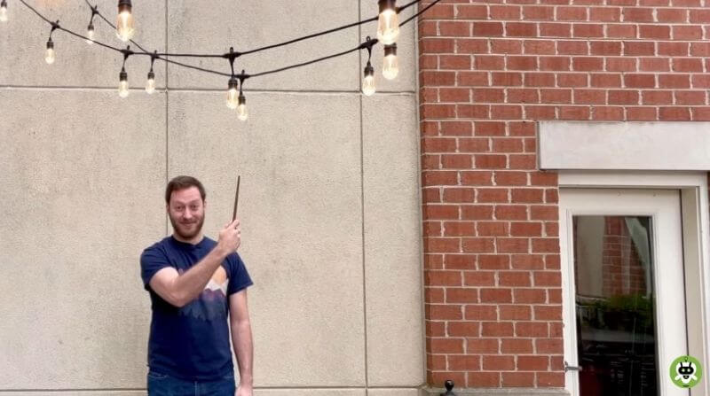 This YouTuber Built A 'Magic Wand' To Turn On Lights, Home Appliances