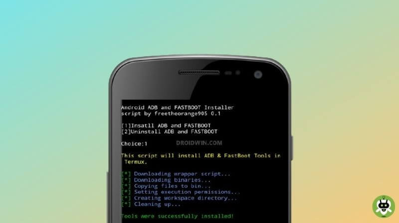 Run ADB Commands On Android Without PC
