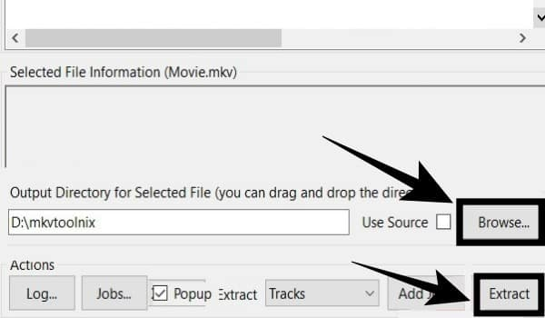 Select Destination And Click On Export