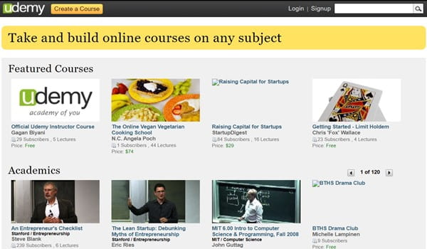 Udemy In 2010