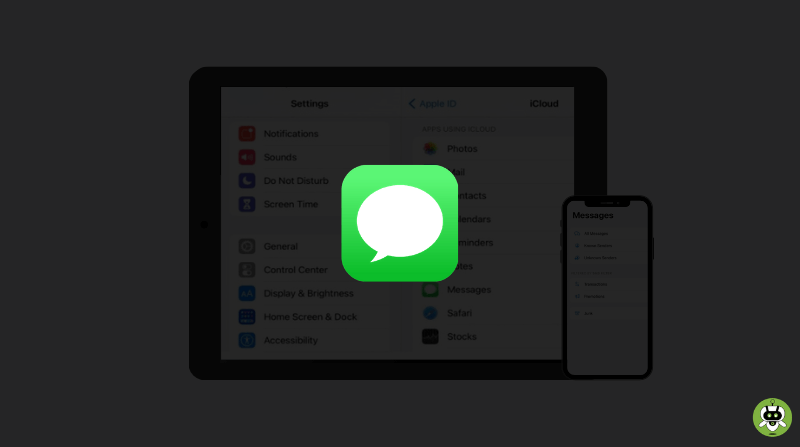 iMessages Not Updating On iPad