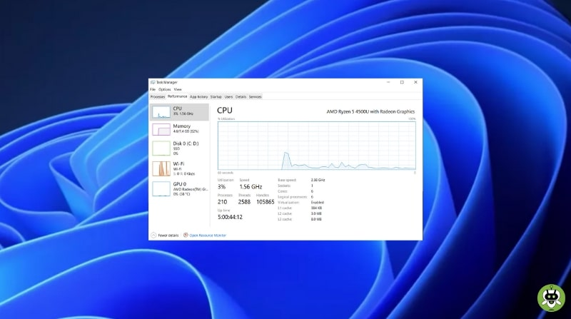 Launch Task Manager In Windows 11