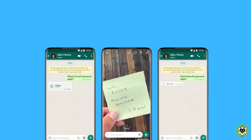 """How To Send """"View Once"""" Message On WhatsApp?"""