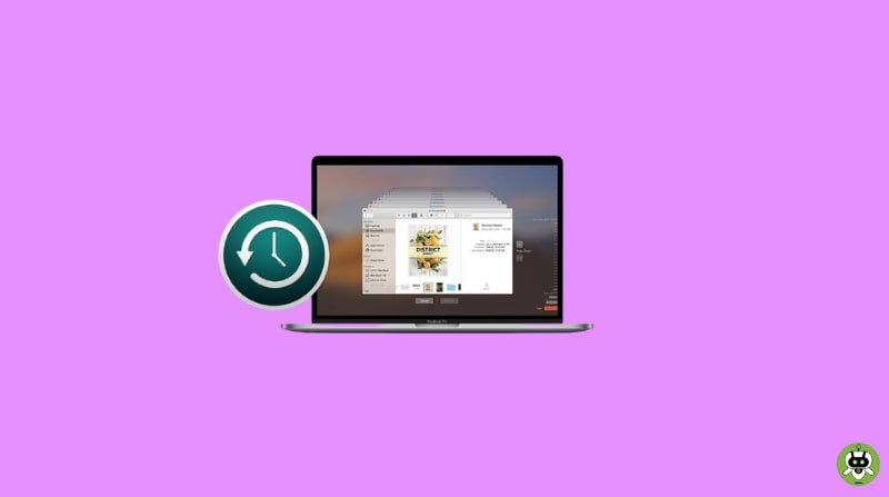 Use Time Machine To Restore Files